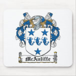 McAuliffe Family Crest Mouse Pad