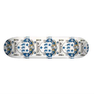McAuliffe Family Crest Skate Board Decks