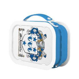 McAuliffe Family Crest Yubo Lunchbox