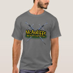 McAuliffe The Irish Experience Clan T-Shirt