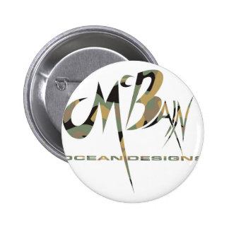 McBain Ocean Designs Green Cammo Button