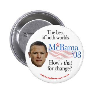 McBama '08 Pinback Buttons