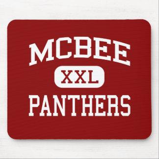McBee - Panthers - High - McBee South Carolina Mouse Pads