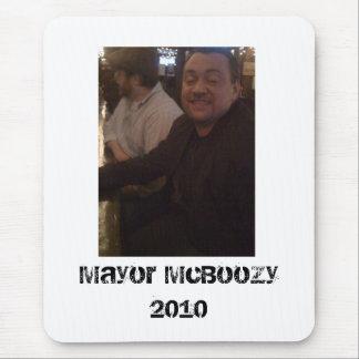 McBoozy, Mayor McBoozy 2010 Mouse Pad