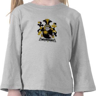 McBrady Family Crest T-shirts