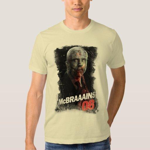 McBrains 08 Campaign T-Shirt