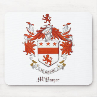 McBrayer Coat of Arms Mousepad