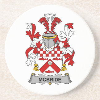 McBride Family Crest Coasters