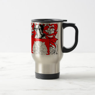 McBride (Irish) Coat of Arms Travel Mug