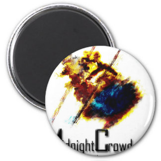 mcburned 2 inch round magnet