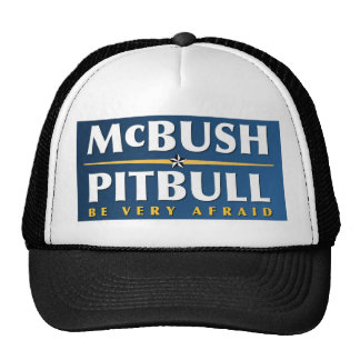 McBush & Pitbull hat
