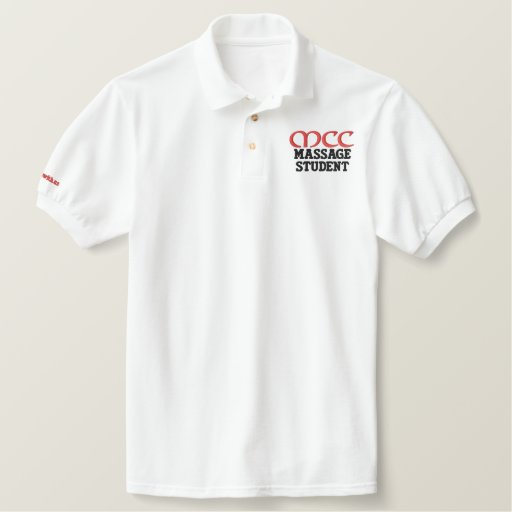 MCC Massage Student Embroidered Polo Shirt