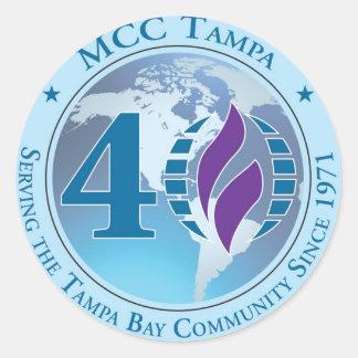 MCC Tampa Non Apparel Item Classic Round Sticker