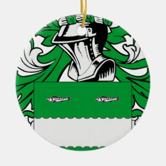 McCabe Coat of Arms Double-Sided Ceramic Round Christmas Ornament