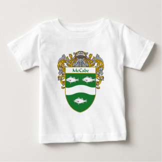 McCabe Coat of Arms (Mantled) Baby T-Shirt