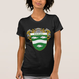 McCabe Coat of Arms (Mantled) T Shirt