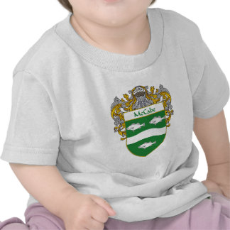 McCabe Coat of Arms (Mantled) Tee Shirts