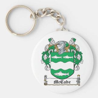 McCabe Family Crest Keychain