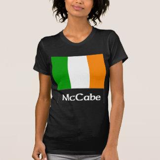 McCabe Irish Flag Blk Tee Shirt