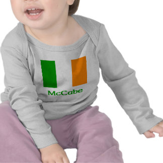McCabe Irish Flag Tee Shirts