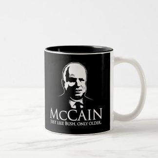 mccain3 Two-Tone coffee mug