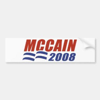 McCain 2008 Pegatina De Parachoque