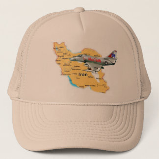 McCain A-4 Over Iran Hat