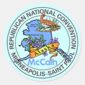 McCain ALASKA RNC Sticker