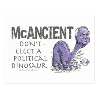 McCain anti McAncient Tarjeta Postal