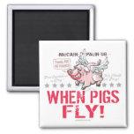 McCain anti Palin cuando los cerdos vuelan Iman De Nevera