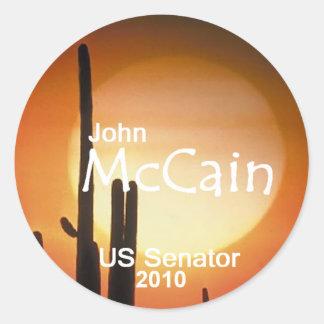 McCain Arizona Senate Sticker
