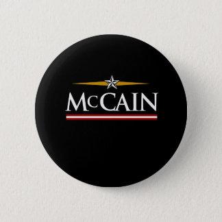 MCCAIN CAMPAIGN T-SHIRT PINBACK BUTTON