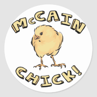 McCain Chick Sticker