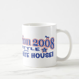 McCain contra Obama 2008 Taza De Café