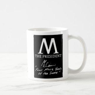 McCain Four More Years Classic White Coffee Mug