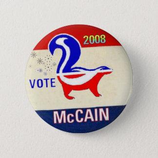 McCain GOP Skunk Button