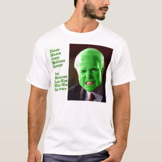 McCain Green Anger T-Shirt