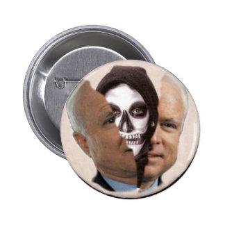 McCain Grim Reaper Button