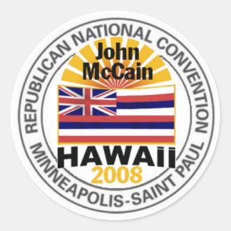 McCain HAWAII RNC Sticker
