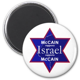 McCain ISRAEL Supports Magnet