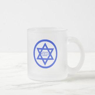 McCain Jewish Star Mug