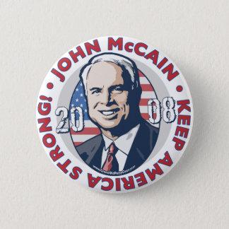 McCain Keep America Strong Button
