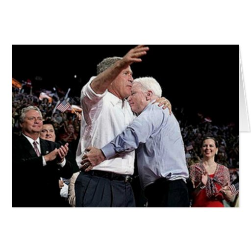 McCain Loves You Greeting Card