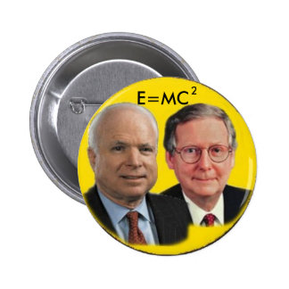 McCain/McConnell Button