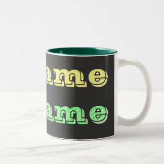 McCain McSame Two-Tone Coffee Mug
