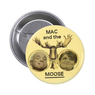 McCain Moose Button