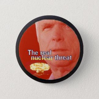 McCain nuclear threat Button
