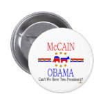 McCain Obama indeciso Pin