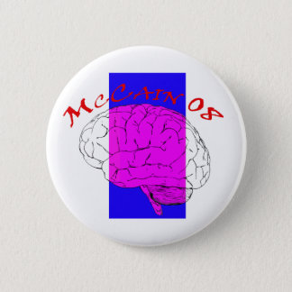 McCain on the Brain again Button