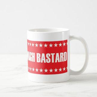 McCain: One Tough Bastard Coffee Mugs